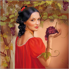 Gallery Print  Red wine - Tanja Doronina