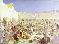 Gallery print  The market place in Ghardaia - Thomas Frederick Mason Sheard