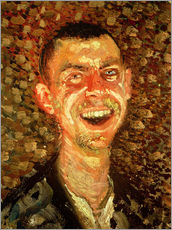 Richard Gerstl - Self Portrait Laughing, 1908