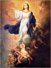Wall Stickers  The Assumption of the Virgin - Bartolome Esteban Murillo