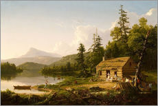Wall sticker  Home in the Woods - Thomas Cole