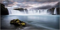 Wall sticker  Godafoss Waterfall in Iceland - Andreas Wonisch