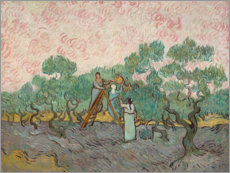 Wall sticker  The olive pickers - Vincent van Gogh