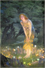 Gallery print  Midsummer Eve - Edward Robert Hughes