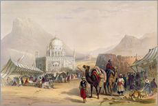 Wall sticker  Temple of 'Ahmed Shauh', King of Afghanistan, Kandahar - James Rattray