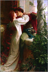 Gallery print  Romeo and Juliet, 1884 - Sir Frank Dicksee