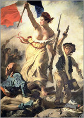 Wall sticker  Liberty Leading the People, detail - Eugene Delacroix