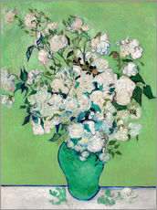 Wall Stickers  A Vase of Roses - Vincent van Gogh