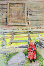 Gallery print  The Old Lodge - Carl Larsson