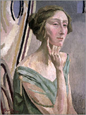 Gallery print  Portrait of Edith Sitwell , 1915 - Roger Fry