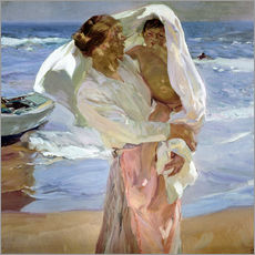 Wall sticker  Just out of the sea - Joaquin Sorolla y Bastida