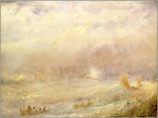 Wall sticker  View of Deal - Joseph Mallord William Turner