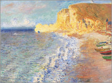 Wall sticker  Morning at Etretat - Claude Monet