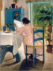 Gallery print  At Breakfast, 1898 - Laurits Andersen Ring