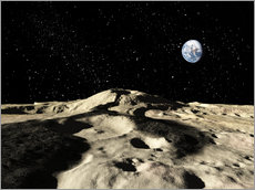 Ron Miller - An old lava flow on the earths moon