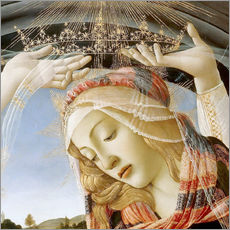 Gallery print  Madonna of the Magnificat (detail) - Sandro Botticelli