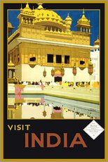 Gallery print  India - Delhi House - Travel Collection