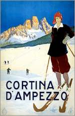 Wall sticker  Cortina d'Ampezzo - Travel Collection