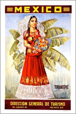 Wall sticker  Mexico - Tehuantepec - Travel Collection
