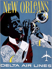 Wall Stickers  Fly to New Orleans