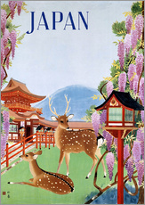 Gallery print  Vintage Japan tourism - Travel Collection
