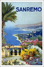 Wall sticker  Sanremo, Italy - Travel Collection
