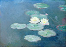 Wall Stickers Waterlilies, Evening