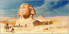 Wall Stickers  The Sphynx of Giza, 1874 - Carl Haag