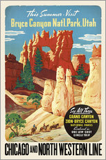 Wall sticker  Bryce Canyon National Park Utah - Travel Collection