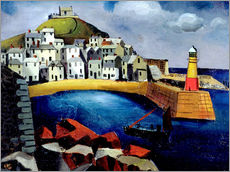 Gallery print  The harbor, 1926 - Christopher Wood