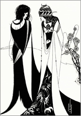 Wall sticker  Salome with her mother, Herodias - Aubrey Vincent Beardsley