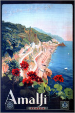 Wall sticker  Amalfi, Italy - Travel Collection