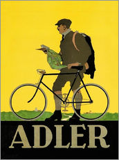 Gallery print  Adler Bicycles - Advertising Collection