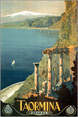 Wall sticker  Italy - Taormina - Travel Collection