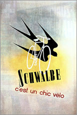 Gallery Print  Bicycles - Schwalbe, cest un chic velo