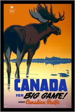Gallery print  Canada - big game - Travel Collection