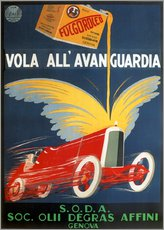 Wall sticker  Automotive oil from Genoa - Advertising Collection