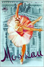 Wall sticker  Moscow - Russian ballet - Advertising Collection