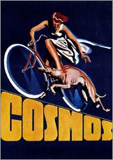 Gallery print  Cosmos bicycles - Advertising Collection