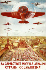 Wall sticker  Aircraft parade on Moscow - Advertising Collection