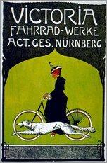Gallery print  Victoria Fahrradwerke - Advertising Collection