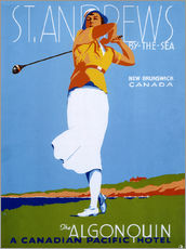 Wall sticker  St. Andrews - Golf - Advertising Collection