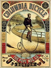 Gallery print  Columbia Bicycles - Advertising Collection