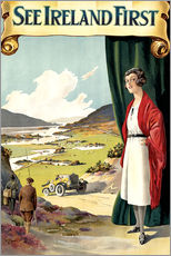 Gallery print  see Ireland first - Travel Collection