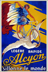 Gallery print  Alcyon - sillonne le monde - Advertising Collection