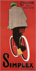 Foam board print  Bicycles from Amsterdam (Dutch) - Advertising Collection