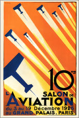 Wall sticker  10 Salon de Aviation - Paris 1926 - Advertising Collection