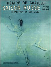 Gallery print  Saison Russe - Opera et Ballet - Advertising Collection