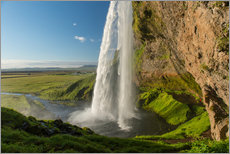Wall Stickers  Seljalandsfoss Waterfall, Iceland - Markus Ulrich