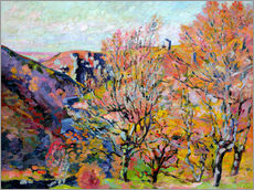 Wall sticker  The valley of the Sedelle in Crozant, 1898 - Jean Baptiste Armand Guillaumin